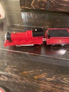Thomas & Friends TrackMaster Motorized Railway James Train Engine with Tender #5