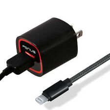 18W ADAPTIVE FAST USB HOME CHARGER BRAIDED 6FT MFI CABLE B6T for IPHONE / IPADS