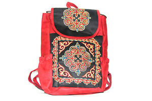 Kazakh Embroidered Backpack