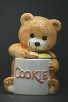 Cookie Jar Pottery Teddy Bear