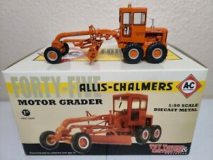 Allis-Chalmers Forty-Five 45 Motor Grader - First Gear 1:50 Scale #50-3126 New!
