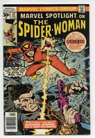 MARVEL SPOTLIGHT #32 1st Appearance SPIDER-WOMAN. Mid to High Grade Newsstand!