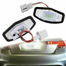 2x 18 Led License Plate Light Direct Smd For Acura Tl Tsx Mdx Honda Civic Accord
