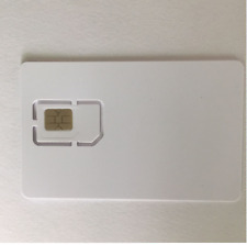 Writable Programmable Blank SIM USIM Card 4G LTE WCDMA GSM Nano Micro SIM Card