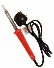 Toolzone fer à souder électrique 60 W à souder sur Secteur Plug Straight Chisel Tip