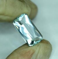 7.40 cts Natural Aquamarine Loose Gemstone From Pakistan