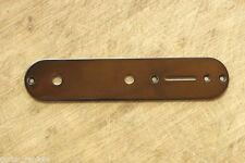 Control Plate Negro Telecaster 34 mm. Potes 7 mm.  Guitarra Eléctrica Black Tele