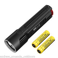 Nitecore EC4S 2150 Lumen Flashlight CREE XHP50 LED w/2x NL189 18650 Batteries