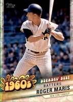 2020 Topps Decade's Best Series 2 #DB-30 ROGER MARIS  Yankees