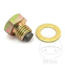For Honda VTX 1800 C1 Magnetic Oil Drain Sump Plug Bolt