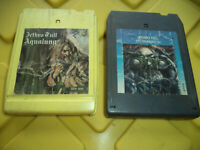 Jethro Tull - Aqualung / Stormwatch - 8 Track Tapes / Lot Of 2 / Tested