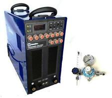 TIG WELDER AC/DC SIMADRE TIG200P PULSE INVERTER WELD ALUMINUM & ARGON REGULATOR