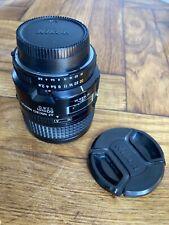 Nikon 60mm Micro-Nikkor Af f/2.8 D Lente Macro,