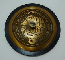 Orig 1935 CALIFORNIA PACIFIC INTERNATIONAL EXPOSITION San Diego Paperweight