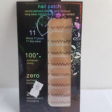 16 Gold Nail Patch Foils with Dot Design