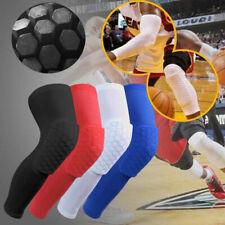 Honeycomb Knee Pad Basketball Crashproof Protector Leg Long Sleeve Sport Support