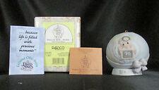 Precious Moments Peace On Earth Anyway Porcelain Ornament Base Box 183350 1996
