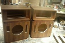 Pair New Altec Lansing Model 19 Cabinets in Walnut or Oak Veneer! WILL SHIP!