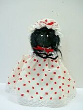 LITTLE RED RIDING HOOD THE BIG BAD WOLF GRANDMOTHER POCK-A-DOTE DRESS