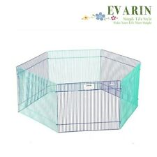 Play Pen Fold Puppy Hamster Small Playpen Fence Kennel Crate Exercise Portable