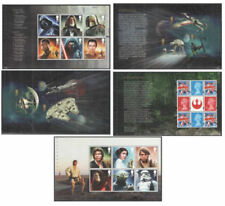 Mint Never Hinged/MNH Star Wars Great Britain Stamp Booklets