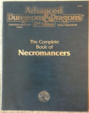 DMGR7 - The Complete Book of Necromancers (1st) - 2e Adv Dungeons & Dragons -TSR