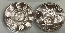 PORTUGAL 10 euro plata 2003   - nautica