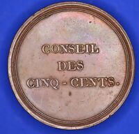 France french copper medallion Council of 500, 1795-1799, *CUIVRE 41mm *[18161]