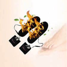 WARMSPACE Shoe Pad 3.7V Rechargeable Electric Battery Heated Insoles Foot Warmer
