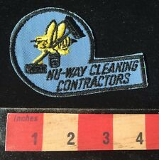 Janitorial? NU WAY CLEANING CONTRACTORS Shirt / Jacket Patch Company BEE 66WB