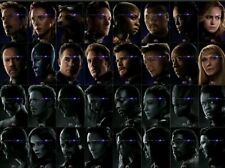 AVENGERS: ENDGAME film poster A4 prints pack - all 32 characters