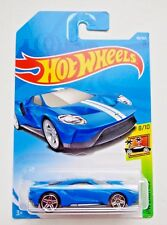 Hot Wheels 2017 Ford GT - blue