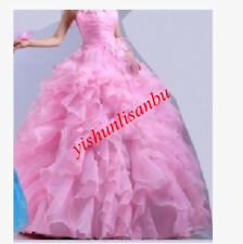 New Quinceanera Dress Elegant Prom Party Pageant Bridesmaid Bridal Wedding Gown