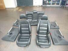 Sitzgarnitur komplett Leder Ausstattung Sitzheizung 4-türig VW  GOLF VI (5K1) 1.