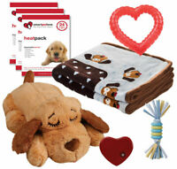 SnugglePuppy New Puppy Starter Kit for Dogs Blue Provides all the products need