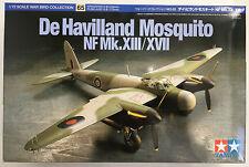 TAMIYA 60765 De Havilland Mosquito NF Mk. XIII/XVII 1/72 Modèle Kit Neuf dans sa boîte