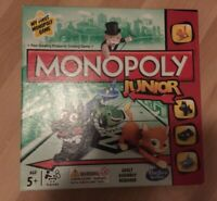 Monopoly Junior Board Game Family My First 5 Years + Hasbro Gaming A6984 Kids