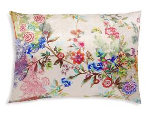 Johnny Was DECKLYN PILLOW CASE Silk Butterfly Flower Shams PillowCases Beige NW