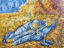 Vincent van Gogh the siesta oil painting canvas reproduction repro art
