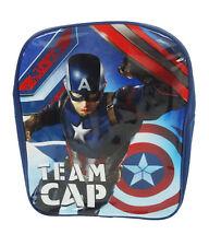 Captain America Gorra de Equipo Mochila Mochila