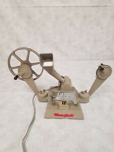 Vintage Mansfield little gem, 8 and 16 MM, reel to reel projector