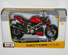 Maisto - DUCATI MOD STREETFIGHTER S - Motorcycle Model Scale 1:12