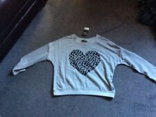 Next 12 Heart Grey Sweatshirt Nwt