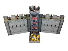 Castle Keep Dice Tower, 2 Castle Wall DM Screens with Magnetic Turn Tracker