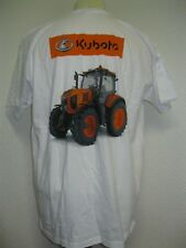 Ancien T-SHIRT TRACTEUR KUBOTA 3M AGRI Agriculture Agricole Fiat Someca Renault