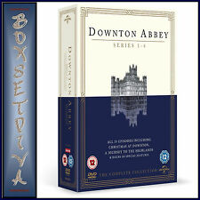 DOWNTON ABBEY -COMPLETE SERIES SEASONS 1 2 3 & 4 PLUS SPECIALS **BRAND NEW DVD**