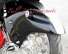 4 PC  99-05-07 Hayabusa 03-08 GSXR 1000 Chrome Grooved Spike Front Fender Bolts!
