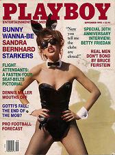 PLAYBOY SEPTEMBER 1992-A – MORENA CORWIN – DENNIS MILLER – SANDRA BERNHARD !!