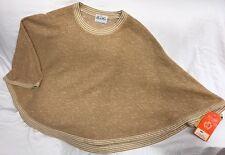 Nwt Vintage 60s 70s Butte Knit Women's Shawl Poncho Blouse Size 8