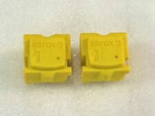 "GENUINE XEROX ColorQube 8570 / 8580 Yellow ""2 PACK""  INK"
